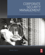 Corporate Security Management : Challenges, Risks, and Strategies - Marko Cabric