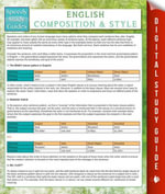 English Composition And Style (Speedy Study Guides) - Speedy Publishing