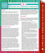 ESL (English as a Second Language) : (Speedy Study Guides) - Speedy Publishing