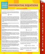 Differential Equations (Speedy Study Guides) - Speedy Publishing