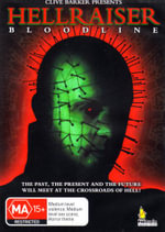 Hellraiser IV : Bloodline - The Past, The Present And The Future Will Meet At The Crossroads Of Hell! - Charlotte Chatton