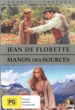 Jean De Florette / Manon Des Sources - Double Feature (2 Disc Set) - Yves Montand