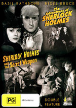 The Adventures Of Sherlock Holmes / Sherlock Holmes And The Secret Weapon : Double Feature - Lionel Atwill