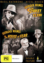 Sherlock Holmes and the Scarlet Claw / Sherlock Holmes and the House of Fear : Double Feature - Dennis Hoey