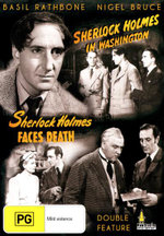 Sherlock Holmes In Washington / Sherlock Holmes Faces Death : Double Feature - Arthur Margetson