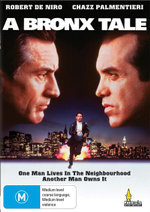 A Bronx Tale : One Man Lives In The Neighbourhood  - Another Man Owns It - Joe Pesci