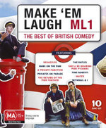 Make Em Laugh : The Best Of British Comedy - 10 Disc Set - Eric Idle