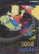 Bart Simpson A5 Notebook