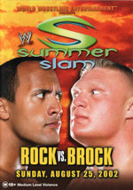 WWE Summer Slam : Rock vs Brock - 2002