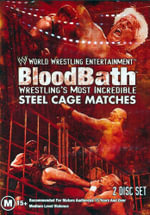 BloodBath : Wrestling's Most Incredible Steel Cage Matches : WWE - Bob Backlund
