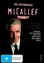 The Expurgated Micallef Tonight : 2 DVD Set - Shaun Micallef