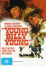 Young Billy Young : Billy Better Learn Fast Or Die Young - Robert Walker