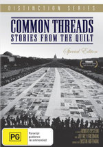 Common Threads : Stories from the Quilt - Special Edition : Distinction Series - Robert Epstein