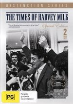 The Times of Harvey Milk  : Distinction Series - Special Edition - 2 DVDs - Anne Kronenberg