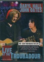 Daryl Hall & John Oates : Live At The Troubadour : 2 Disc Set - Conor McAnally