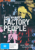 Andy Warhol's Factory People : Inside The Sixties Silver Factory - Lou Reed