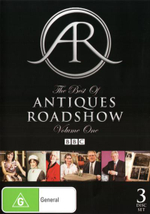 The Best Of Antiques Roadshow : Volume One : 3 Disc Set - Fiona Bruce