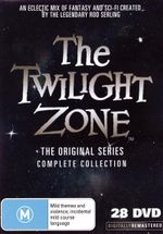 The Twilight Zone : The Complete Series  (50th Anniversary Box Set) - Rod Taylor
