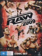 The Best of RAW 2009 : WWE : 3 Disc Set
