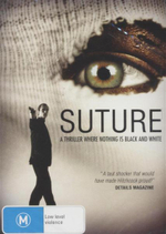 Suture : A Thriller Where Nothing Is Black And White - Sab Shimono
