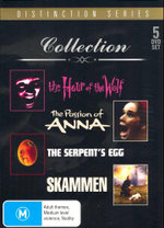 Ingar Bergman Collection/The Hour of the Wolf/The Pasion of Anna/The Serpents Egg/Skammen : 5 DVD Set - Sigge Furst