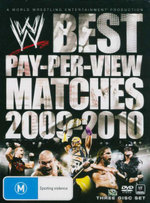 Best Pay Per View Matches of 2009 - 2010 : WWE : 3 Disc Set - Kevin Dunn