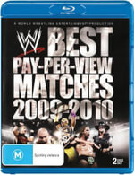WWE : Best Pay-Per-View Matches of 2009-2010 - Antonio Banks