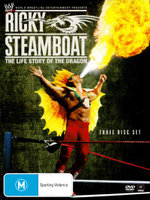 WWE Ricky Steamboat : The Life Story of the Dragon (3 Discs) - Macho Man Randy Savage