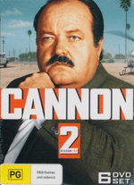 Cannon : Season 2 - William Conrad