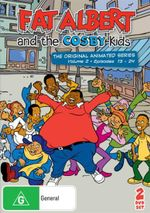 Fat Albert And The Cosby Kids - The Original Animated Series : Volume 2 : Episodes 13-24 - Jay Scheimer
