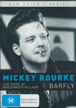 Mickey Rourke : The Pope of Greenwich Village; Barfly : MGM Actor's Series : Double Pack - Mickey Rourke