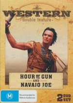 Western Double Feature : Hour of the Gun and Navajo Joe : 2 Disc Set - James Garner