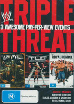 WWE - Triple Threat : Survivor Series 2009 / TLC 2009 / Royal Rumble 2010