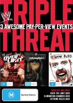 Over the Limit / Elimination Chamber 2010 / Extreme Rules 2010 : WWE - Triple Threat : Volume 2 - Rey Mysterio