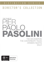 The Films Of Pier Paolo Pasolini : Directors Collection : Distinction Series : 5 Disc Set