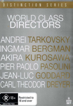 World Class Directors : Distinction Series : 8 Disc Set - Andrei Tarkovsky