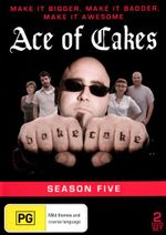 Ace of Cakes : Season 5 (2 Discs) - Mary Smith