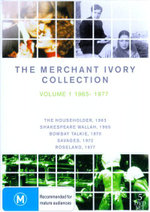 The Merchant Ivory Collection : Volume 1: 1963-1977 - Bhaskar Roy Chaudhuri