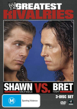 WWE Shawn Michaels vs. Bret Hart - Bret Hart