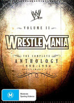 WWE : Wrestlemania - The Complete Anthology 1990 - 1994 - Volume 2 - Ultimate Warrior
