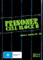 Prisoner Cell Block H : Volume 8 - Episodes 225 - 256 - Elspeth Ballantyne