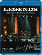 Various Artists : Legends - Live At Montreux