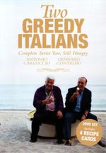 Two Greedy Italians : Complete Series 2; Still Hungry : 2 DVD Set & 4 Recipe Cards - Gennaro Contaldo