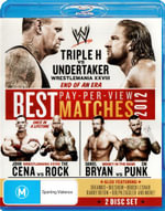 WWE : The Best Pay-Per-View Matches of 2012 (2 Discs) - Triple H