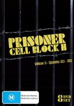 Prisoner Cell Block H : Volume 11 - Eps 321-352 (8 Discs) - Betty Bobbitt