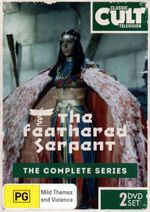 The Feathered Serpent : The Complete Series : 2 Discs - Richard Willis