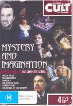 Mystery and Imagination : The Complete Series - Patrick Mower