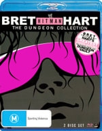Bret 'Hit Man' Hart : The Dungion Collection (2 Discs) - Bret Hit Man Hart