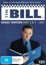 The Bill : Series 13 - Part 3 and 4 (12 Discs) - Tony Scannell