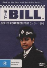 The Bill : Series 14 - Part 3 to 5 1998 (13 Discs) - Tony Scannell
